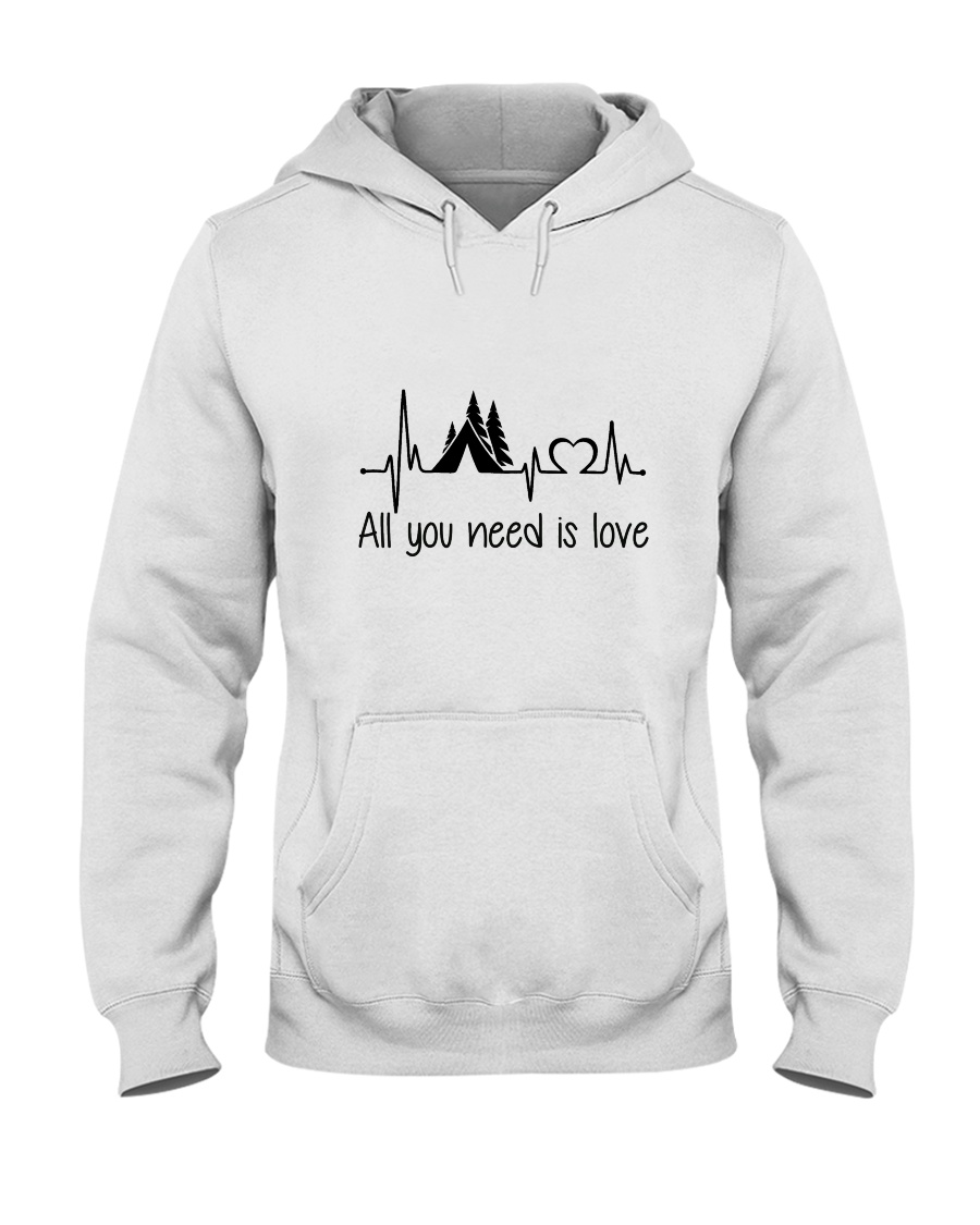 All You Need Is Love Hooded Sweatshirt