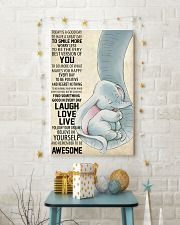 Laugh Love Live 11x17 Poster lifestyle-holiday-poster-3