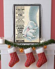 Laugh Love Live 11x17 Poster lifestyle-holiday-poster-4