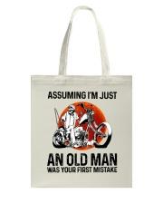Assuming I'm Just An Old Man Tote Bag thumbnail