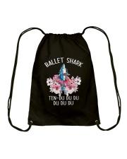 Ballet Shark Drawstring Bag thumbnail