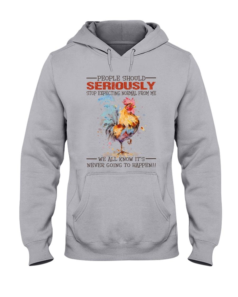 People Should Seriously Hooded Sweatshirt