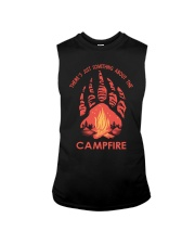 Something About The Campfire Sleeveless Tee thumbnail