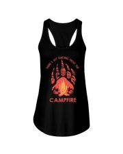 Something About The Campfire Ladies Flowy Tank thumbnail