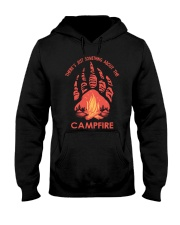 Something About The Campfire Hooded Sweatshirt front