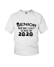 Seniors Skips Day 2020 Youth T-Shirt front