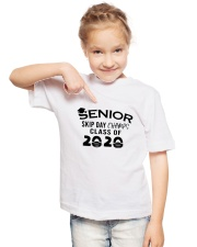 Seniors Skips Day 2020 Youth T-Shirt lifestyle-youth-tshirt-front-2