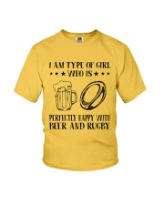 Beer And Rugby Youth T-Shirt thumbnail