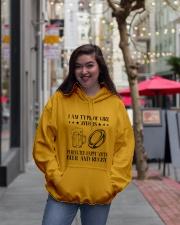 Beer And Rugby Hooded Sweatshirt lifestyle-unisex-hoodie-front-2