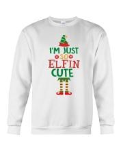 I Am Just So Elfin Cute Crewneck Sweatshirt thumbnail