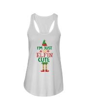I Am Just So Elfin Cute Ladies Flowy Tank thumbnail