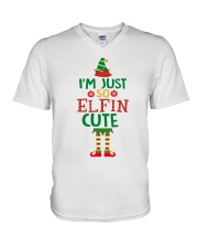 I Am Just So Elfin Cute V-Neck T-Shirt thumbnail