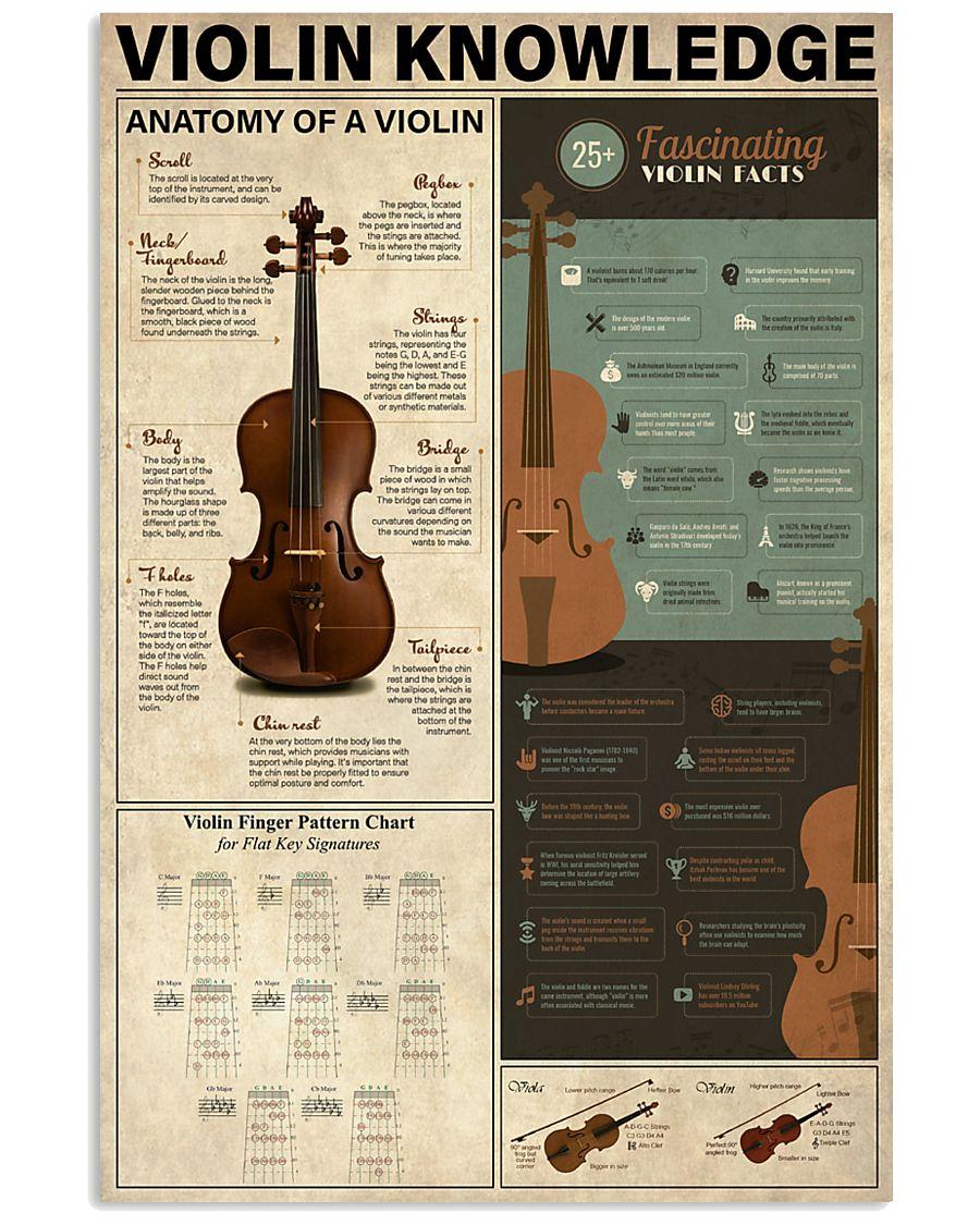 Violin Knowledge 11x17 Poster