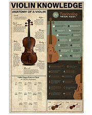 Violin Knowledge 11x17 Poster front