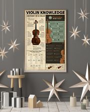 Violin Knowledge 11x17 Poster lifestyle-holiday-poster-1