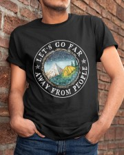 Let's Go Far Away From People Classic T-Shirt apparel-classic-tshirt-lifestyle-26