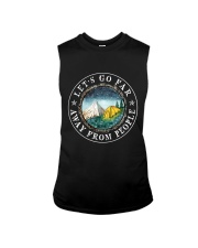 Let's Go Far Away From People Sleeveless Tee thumbnail