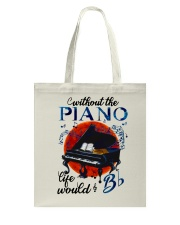Without The Piano Tote Bag thumbnail