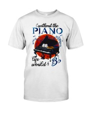Without The Piano Classic T-Shirt front