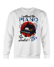 Without The Piano Crewneck Sweatshirt thumbnail