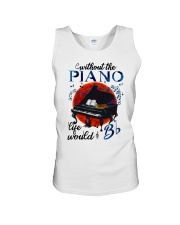 Without The Piano Unisex Tank thumbnail