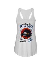 Without The Piano Ladies Flowy Tank thumbnail