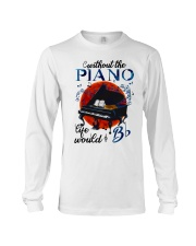Without The Piano Long Sleeve Tee thumbnail