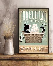 Tuxedo Cat 11x17 Poster lifestyle-poster-3