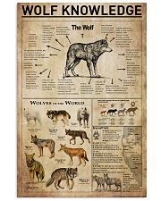 Wolf Knowledge 11x17 Poster front