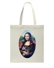 Mona Lisa Painting Tote Bag thumbnail