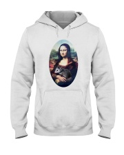 Mona Lisa Painting Hooded Sweatshirt thumbnail