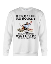Ice Hockey Crewneck Sweatshirt thumbnail