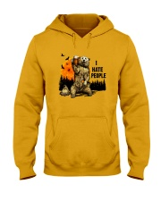 I Hate People Hooded Sweatshirt front