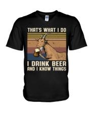 That's What I Do V-Neck T-Shirt thumbnail
