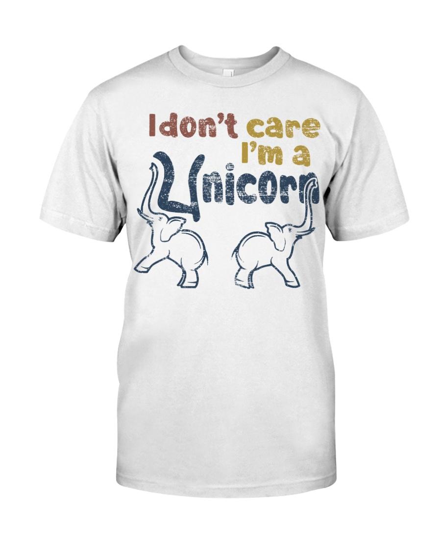 I Dont Care Classic T-Shirt