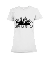 Shuh Duh Fuh Cup Premium Fit Ladies Tee tile