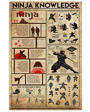 Ninja Knowledge 11x17 Poster front