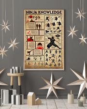 Ninja Knowledge 11x17 Poster lifestyle-holiday-poster-1