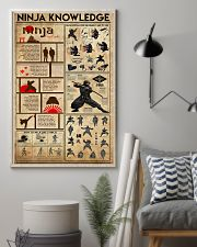 Ninja Knowledge 11x17 Poster lifestyle-poster-1