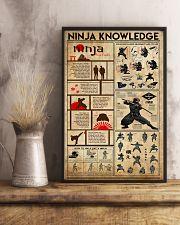 Ninja Knowledge 11x17 Poster lifestyle-poster-3