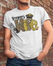 Trooper Wife Classic T-Shirt apparel-classic-tshirt-lifestyle-26