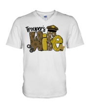 Trooper Wife V-Neck T-Shirt thumbnail