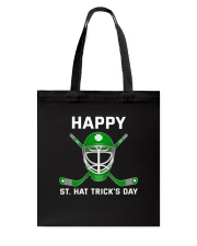 Happy St Hat Trick's Day Tote Bag thumbnail