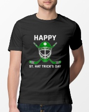 Happy St Hat Trick's Day Classic T-Shirt lifestyle-mens-crewneck-front-13