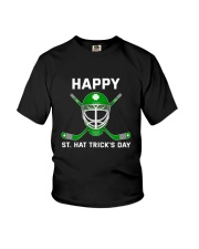 Happy St Hat Trick's Day Youth T-Shirt thumbnail