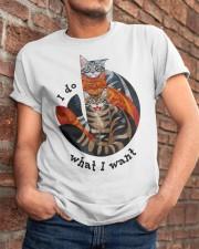 I Do What I Want Classic T-Shirt apparel-classic-tshirt-lifestyle-26