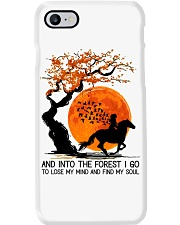 And Into The Forest I Go Phone Case tile