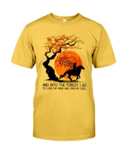 And Into The Forest I Go Classic T-Shirt tile