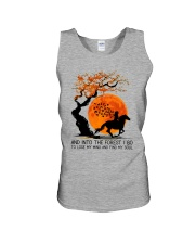 And Into The Forest I Go Unisex Tank tile