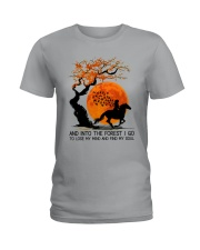 And Into The Forest I Go Ladies T-Shirt tile